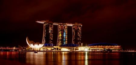 marina bay: SINGAPORE The Marina Bay waterfront