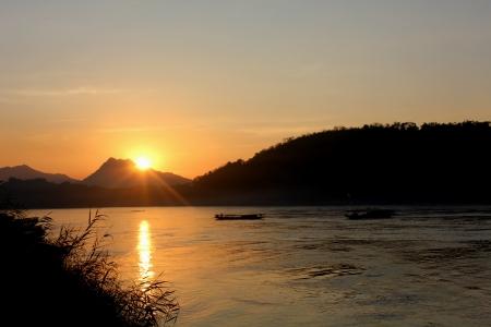 mekong: Mekong sunset
