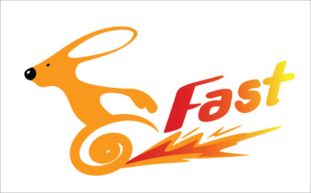 Orange rabbit Running speed