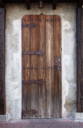 old wooden door Stock Photo - 662580