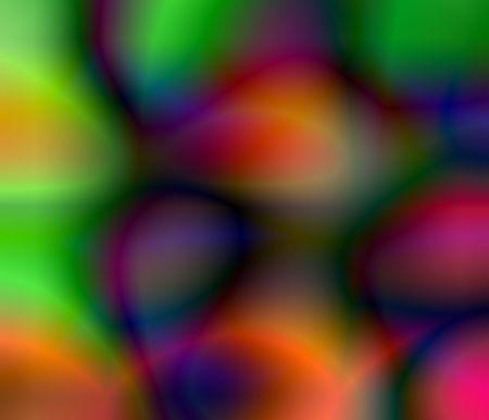 コンピューターには、illustrationof 何百もの色や色、形、パターンが生成されます。 写真素材