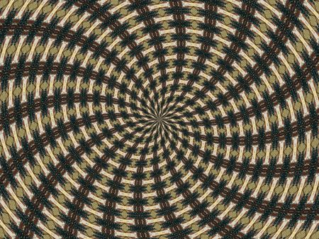 spinning: A computer generated background abstract in a spinning pattern. Stock Photo