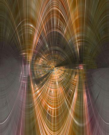 パターンのようなトンネル内のコンピューター生成背景抽象的。 写真素材
