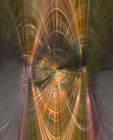 A computer generated background abstract in a tunnel like pattern. Imagens - 6074217