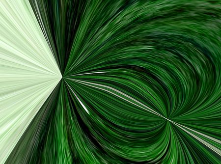 A computer generated background abstract in an emerald green color.