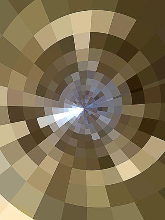 矢印の付いたターゲットの形でコンピューター生成背景の抽象的な。