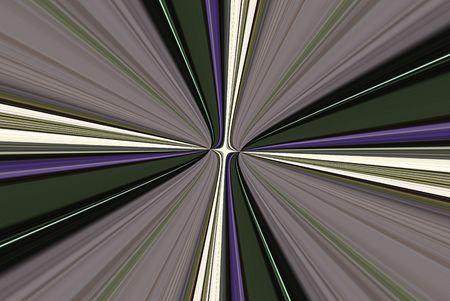 Een computer gegenereerde achtergrond abstract in de vorm van veelkleurige stralen.