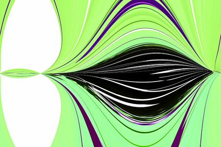 A computer generated background abstract in a pod lilke shape.