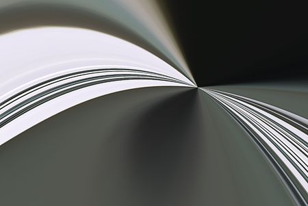 A computer generated background abstract in a curving effect.