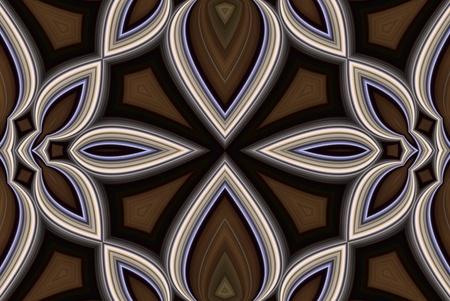 Digtally のユニークな形状を作成するアルゴリズムを持つイメージを生成されます。 写真素材