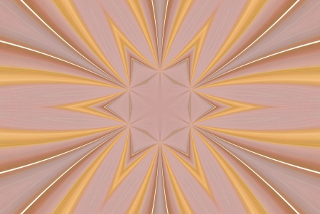 algorithms: A digitally generated image using a set of algorithms on an original image creating lines and shapes with a final design of starburst.