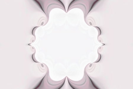 A digitally generated image using a set of algorithms on an original photo creating this ornate pastel colored frame abstract.  Reklamní fotografie