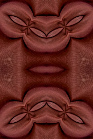 puffed: A digitally generated image using a set of algorithms on an original photo creating the look of fabric that has been gathered and puffed.  Stock Photo