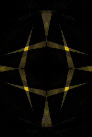 夜着陸帯の外観を作成する元の写真の一連のアルゴリズムを使用してデジタル生成イメージ。