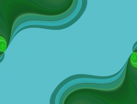 algorithms: A digitally generated image using a set of algorithms on an original photo creating an image in the shape of a flowing river.