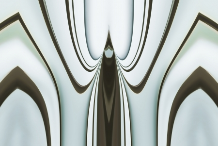 A digitally generated image using a set of algorithms on an original photo creating the look of cathedral windows and a draped curtain abstract.  Reklamní fotografie