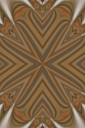 algorithms: A digitally generated image using a set of algorithms on an original photo of a snow shovel forming the look of a delicate wooden inlay.