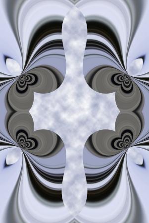 偏ってセットパックする鍵穴の影響を作成する元の photoor の一連のアルゴリズムを使用してデジタル生成イメージ。 写真素材