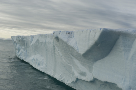 An awesome view of a very large iceberg in the Arctic