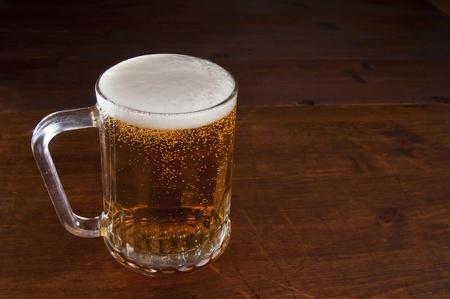 alcoholic beverage: Beer mug