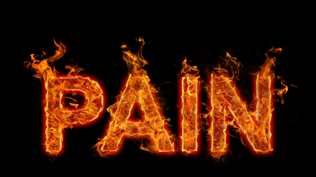 Burning Word Pain