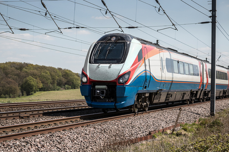 high speed train: High speed train on the move Editorial