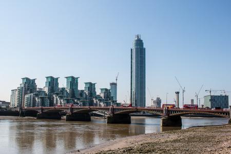 uk money: St George Wharf - London, UK
