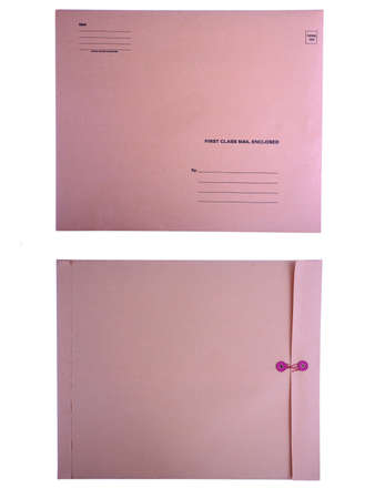 envelope: Blank front and back of envelope