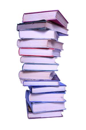 Tall stapel oude boeken