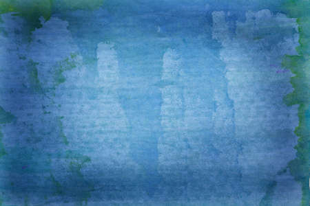 Beautiful grunge blue background with paint smears