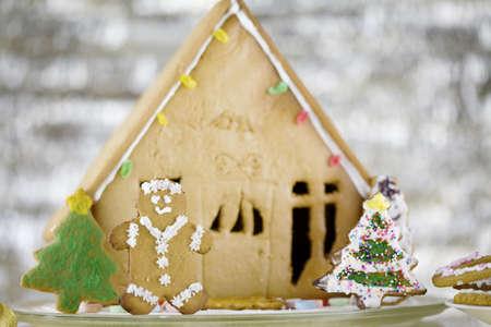 Cute gingerbread house photo
