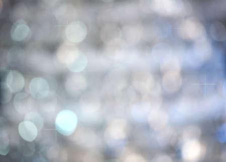 Blue shimmery defocused background