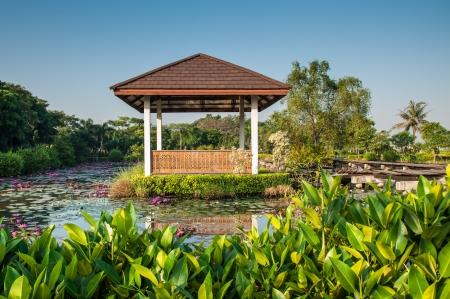pavilion, thai pavilion Stockfoto