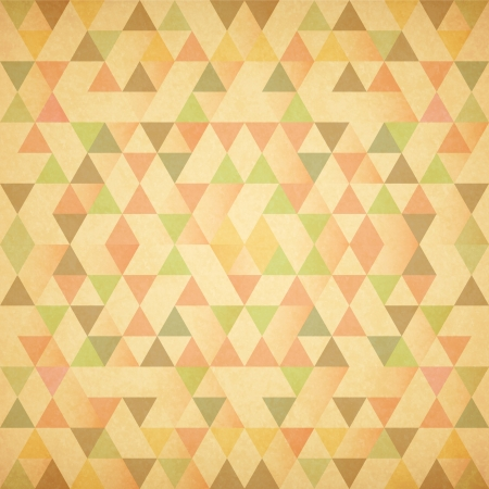 Retro pattern of geometric shapes. Retro triangle background Stock Photo
