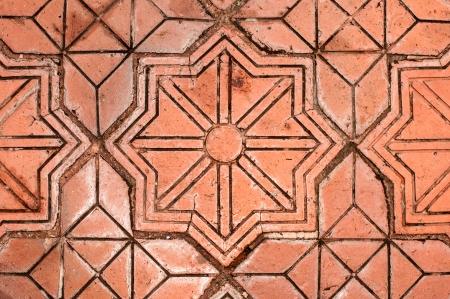 Texture of floor tile.