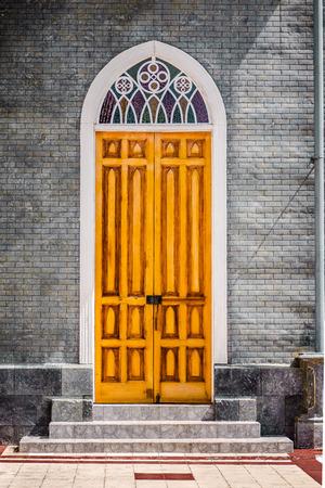 isidro: Zarcero Catholic Church Door