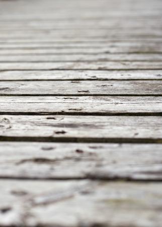 sunburnt: Surface of old plank pier, gray sunburnt