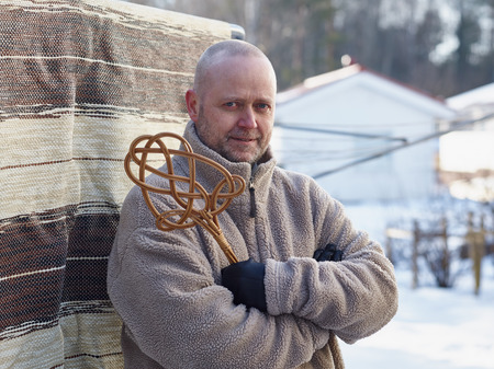 beater: Homeworks, a man and the carpet beater