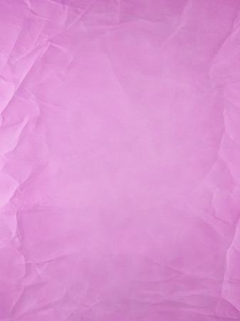 arrugas: Tipo de papel viejo Rosa, pliegues y arrugas.