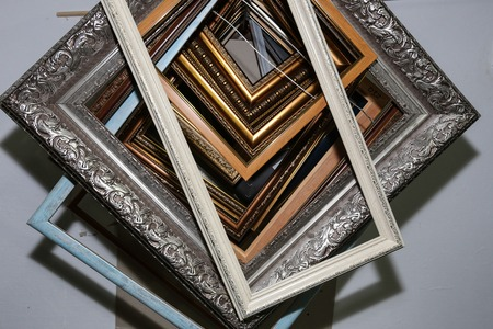 workshop for restoration of paintings and frames