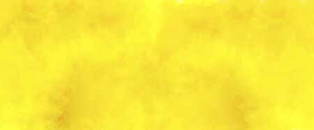 Watercolor yellow watercolour background for paper design.
