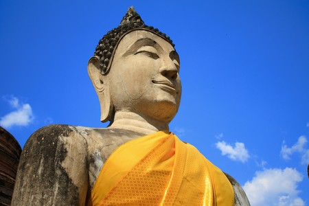 ancient buddha image in ayutthaya Stock Photo - 7290888
