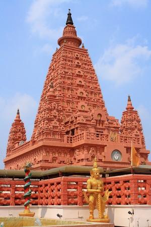 gaya: Thai pagoda in India style