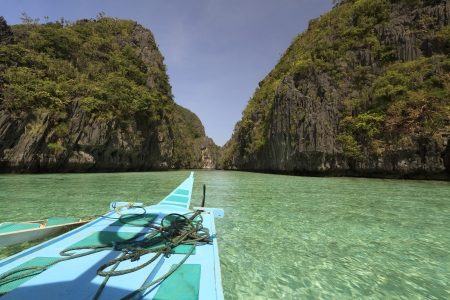 palawan: Playa, El Nido, Palawan, Filipinas Foto de archivo