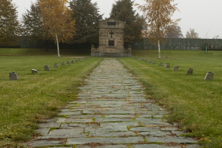 Terezin memorial in Czech Republic