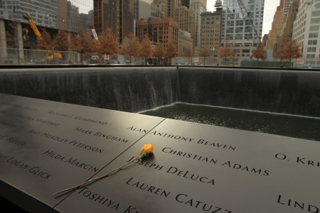 Memorial of 9-11-2001, New York