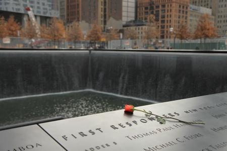 Memorial of 9-11-2001, New York Редакционное
