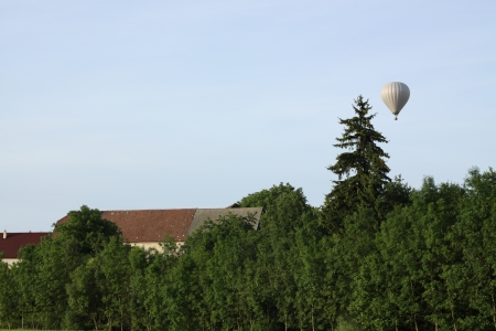Hot air balloon - Czech Republic photo