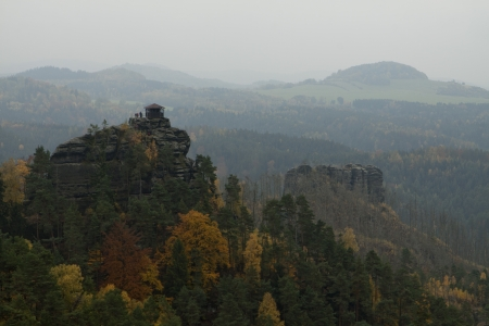 Mariina vyhlidka - Mary�s observatory - Ceske Svycarsko, Czech Republic,  Bohemian Switzerland photo