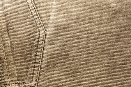 texture of fabric material - corduroy from men´s pants Stock Photo - 22561585